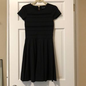 Black Cynthia Rowley A-line dress